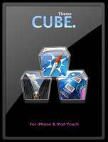 CUBE theme for iphone by alxboss