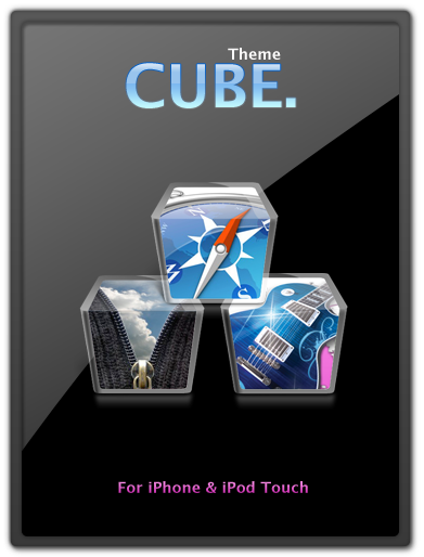 CUBE theme for iPhone