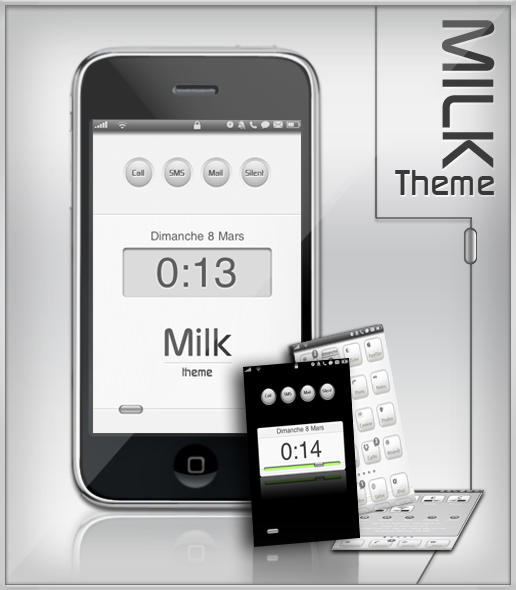 MILK iPhone by alxboss