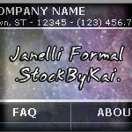 WebTemplate - Ja'nelli Formal by Stock-by-Kai