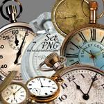 Clocks PNG by Baira