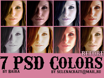 PSD colorings by Baira