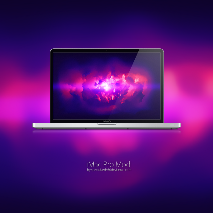 IMac Pro Mod Wallpaper By Specialized666