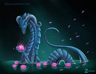 Magic Waterlilies by Zafrean