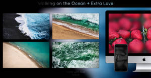 Walking on the Ocean ~Wallpack