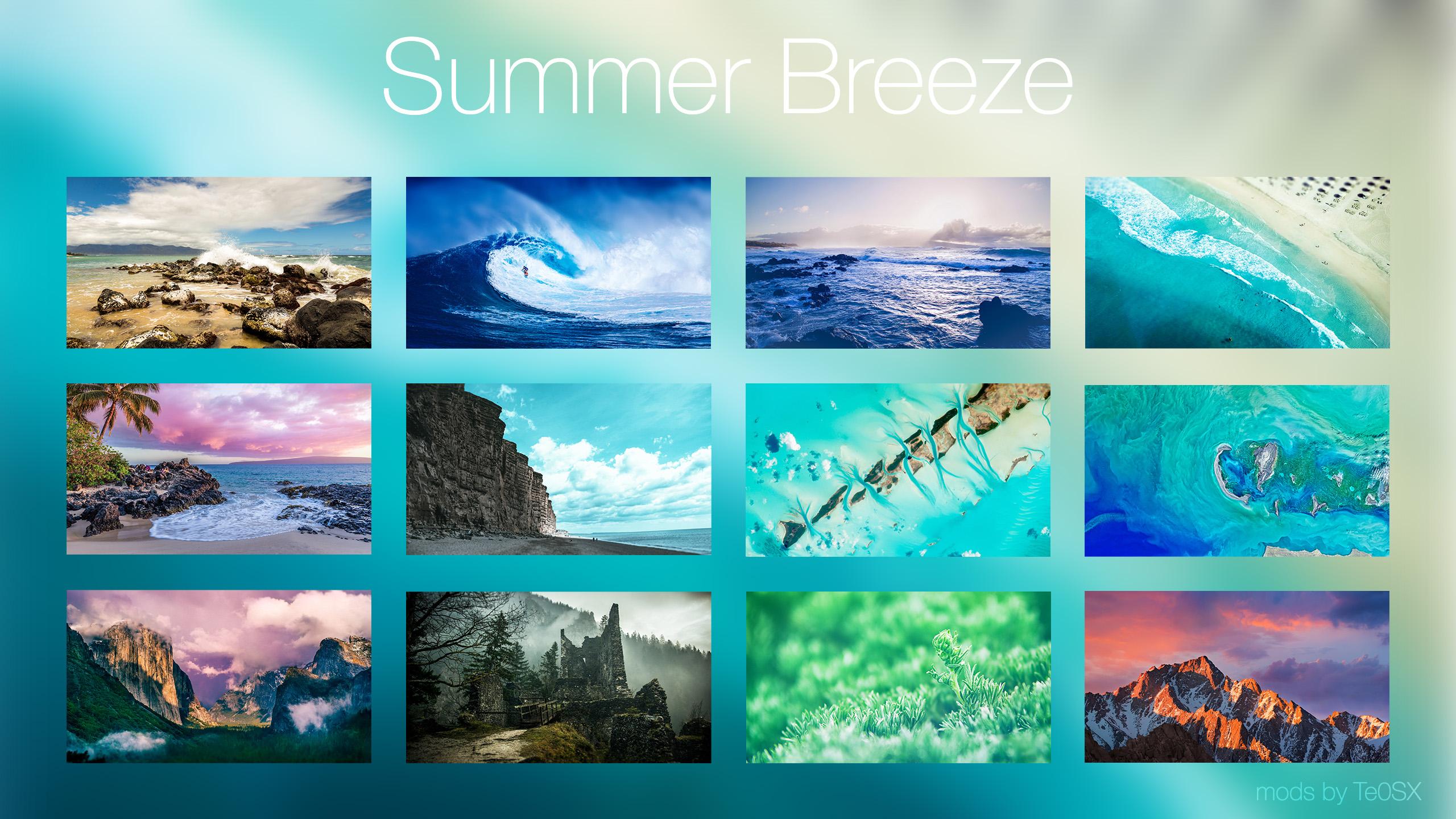 Summer Breeze ~ Wallpack