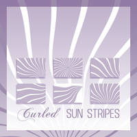 Curled Sun Stripes Brushes by DieheArt