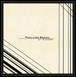 Photo Lines Brushes