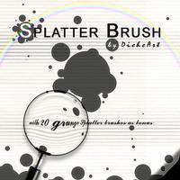 Grunge Splatter Brushes