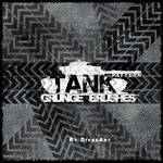 Tank Pattern Grunge Brushes