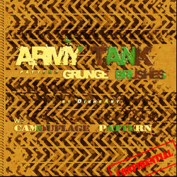 Army Tank Pattern Grunge Brush by DieheArt
