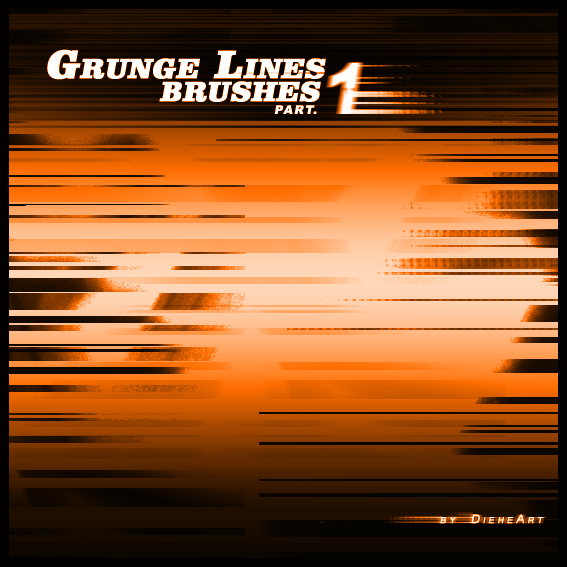 Grunge Lines Brushes Part.1