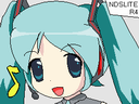 Hatsune Miku R4-Moonshell skin by aces-of-the-sky
