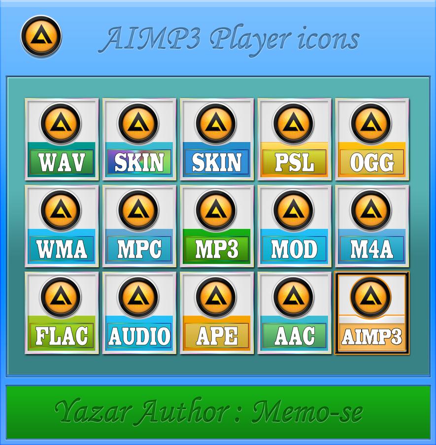 Simge Icons Aimp3