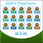 Simge 2 AIMP3 Player icons