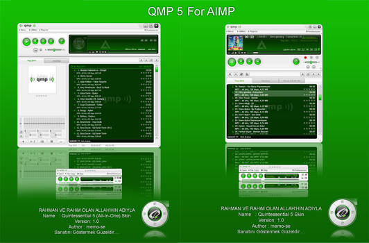 QMP 5 Skin for AIMP Player