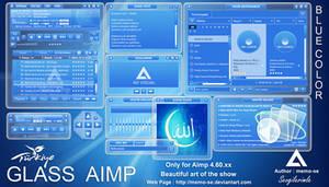 Glass AIMP Skin for AIMP Player