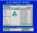 J.R Green Eyes for Aimp Player