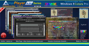 Windows - 8 Colors Pro Skin For Aimp Player