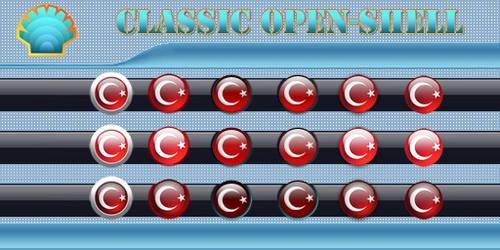 Windows Start Buttons for Classic Open-Shell