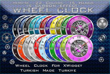 Memo-se wheel clock for xwidget