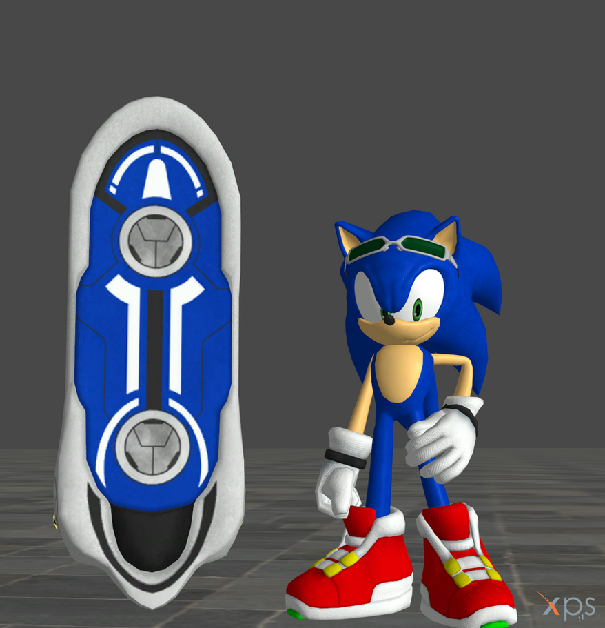 Sonic Free Riders (Sonic and Blue Star) by Spinosaurusking875