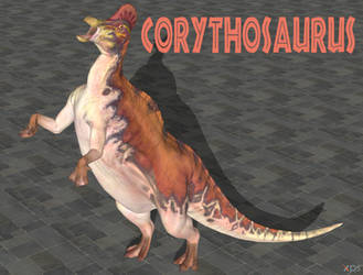 Corythosaurus (Evolution) XNA DOWNLOAD. by Spinosaurusking875
