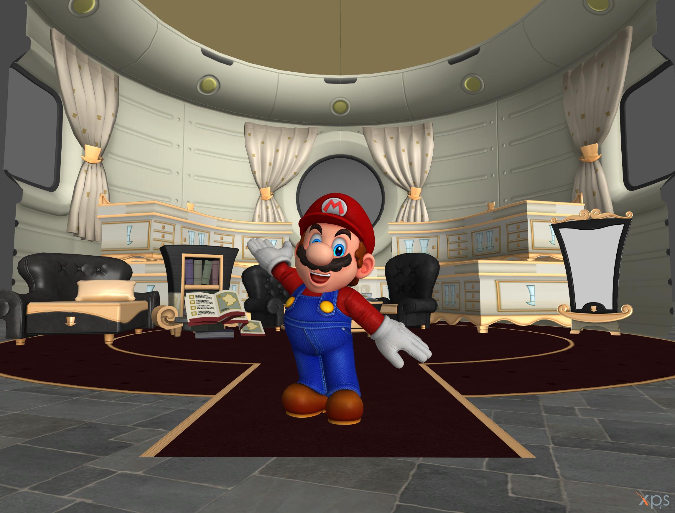Super Mario Odyssey Odyssey Interior Download By