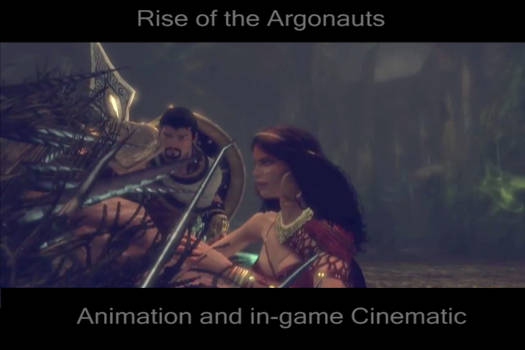 Scene from Rise of th Argonauts:  Saria Island