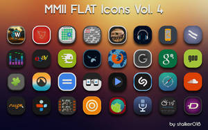 MMII FLAT Icons Vol.4 by stalker018