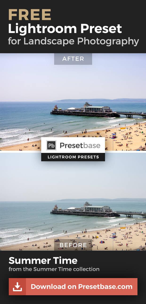 Summer Time (FREE Lightroom Preset) by Presetbase on DeviantArt