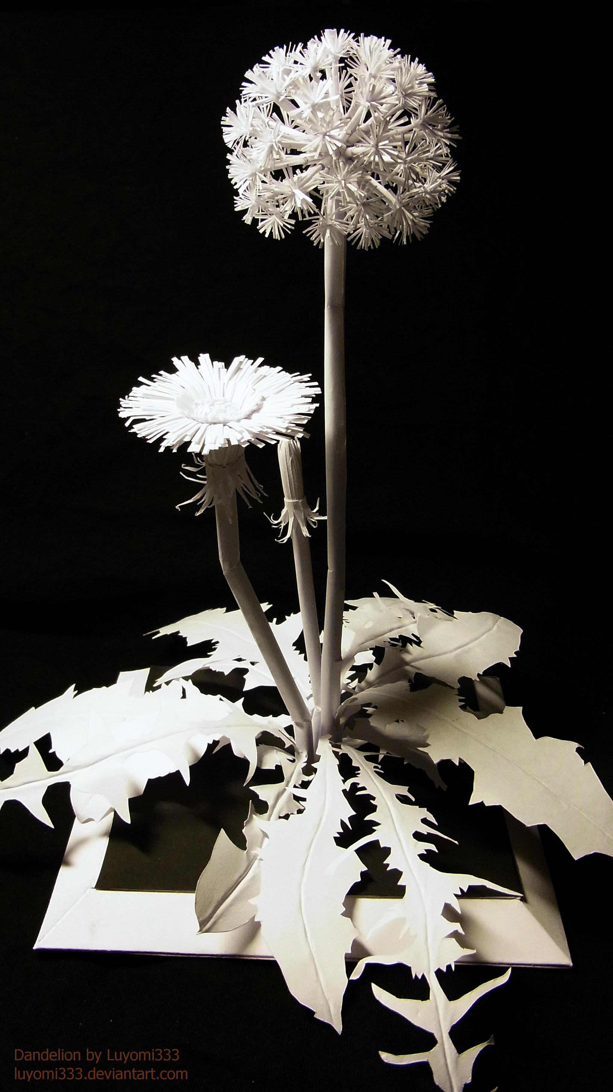 Snow Dandelion by Luyomi333