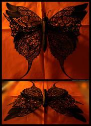 Big Black Butterfly