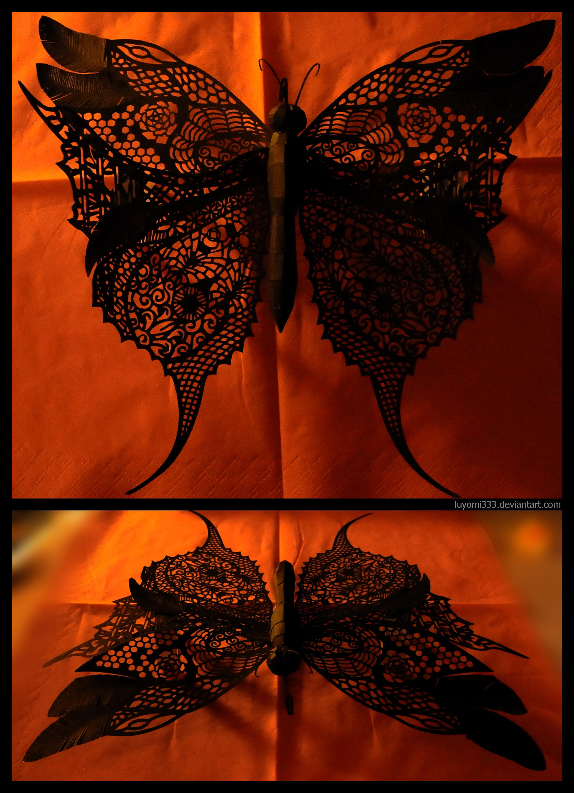 Big Black Butterfly by Luyomi333