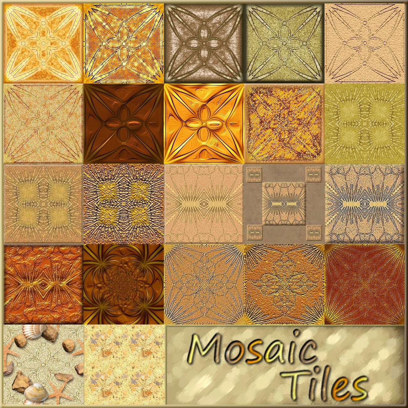 Mosaic Tiles by allison731