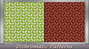 Dichromatic Patterns