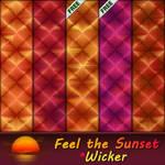 Feel the Sunset - Wicker