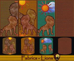 Fabrics - Lions by allison731