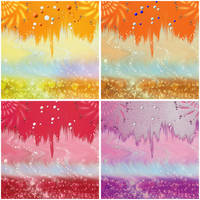 4 Color Backgrounds