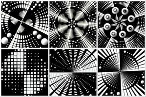 Monochrome Textures by allison731