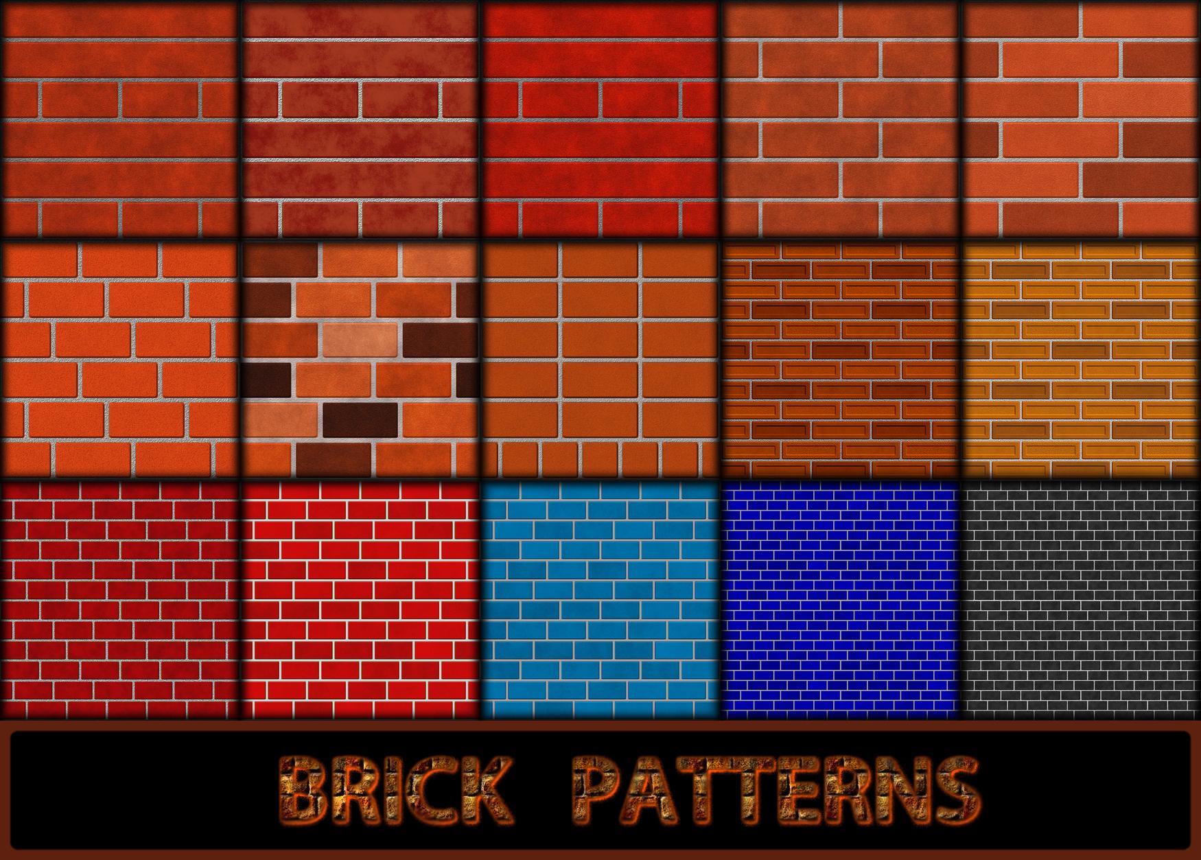 Brick Patterns By Allison731 On Deviantart