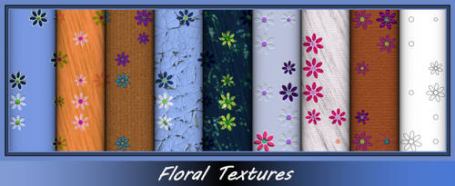 Floral Textures by allison731