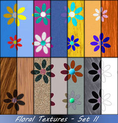 Floral Textures-Set II by allison731