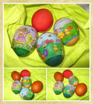 Easter Eggs Stock by allison731
