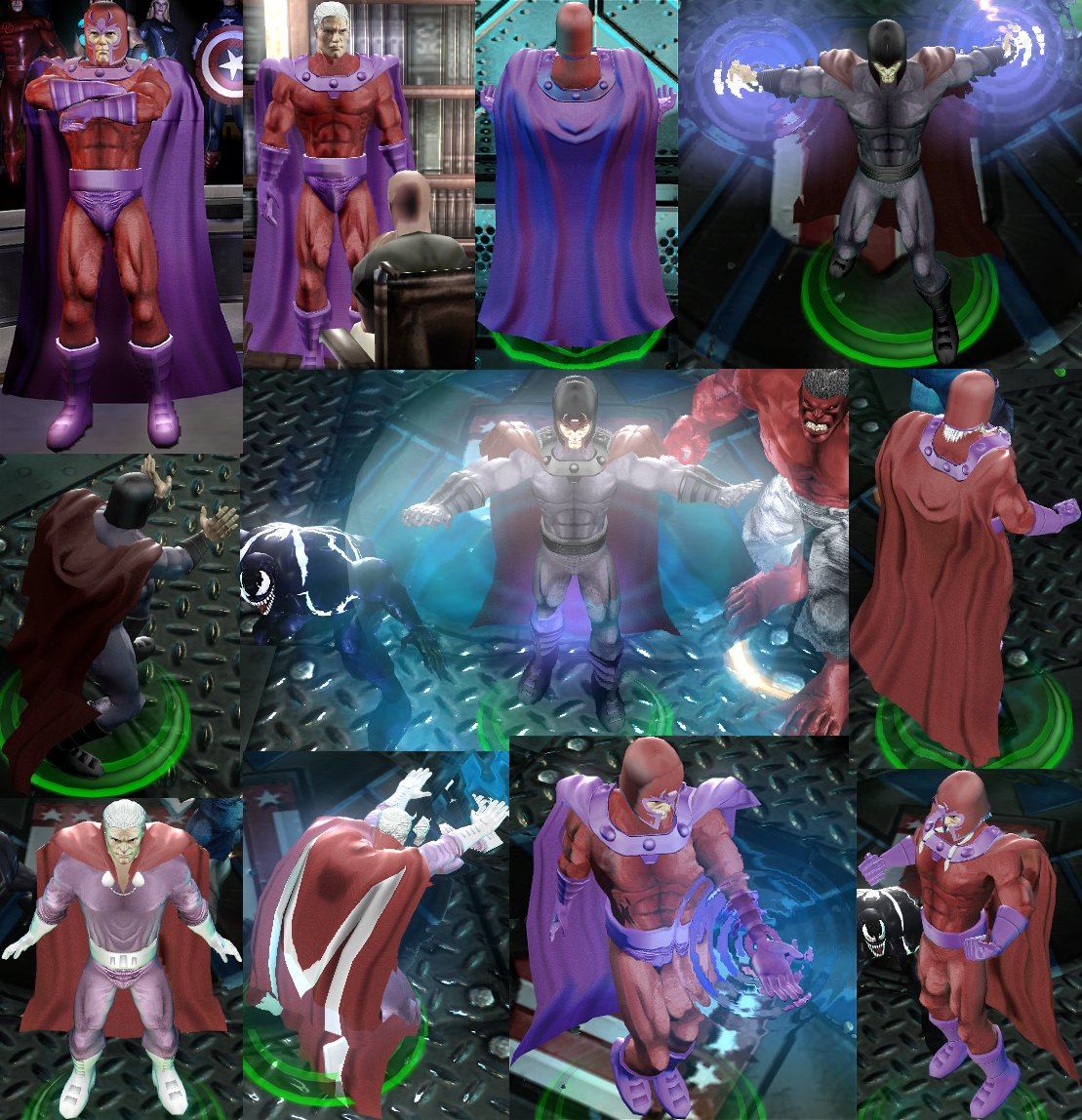 Magneto Marvel Ult. Alliance
