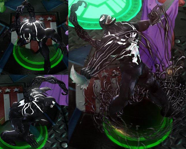 Venom 1.2 Marvel Ult. Alliance by DarkMarkZX