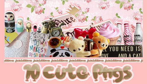 10 Cute Pngs by jesuiskieran