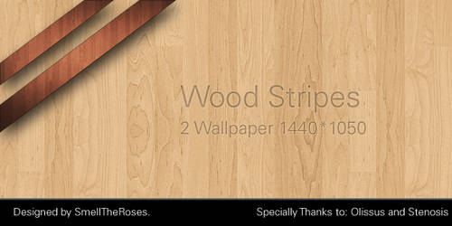 Wood Stripes Wallpaper.