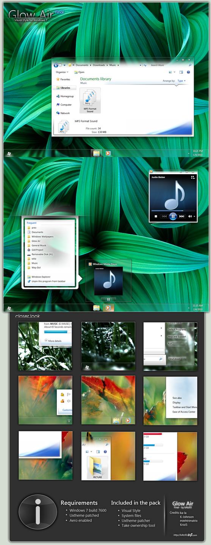 Glow Air Final for Windows 7 by kAtz93