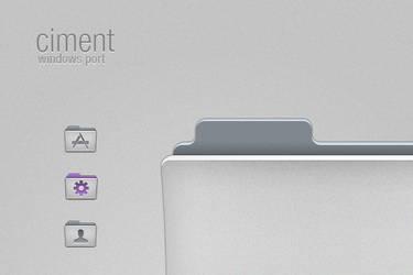 Ciment Windows Port